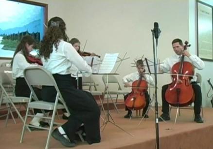 String quartet snapshot