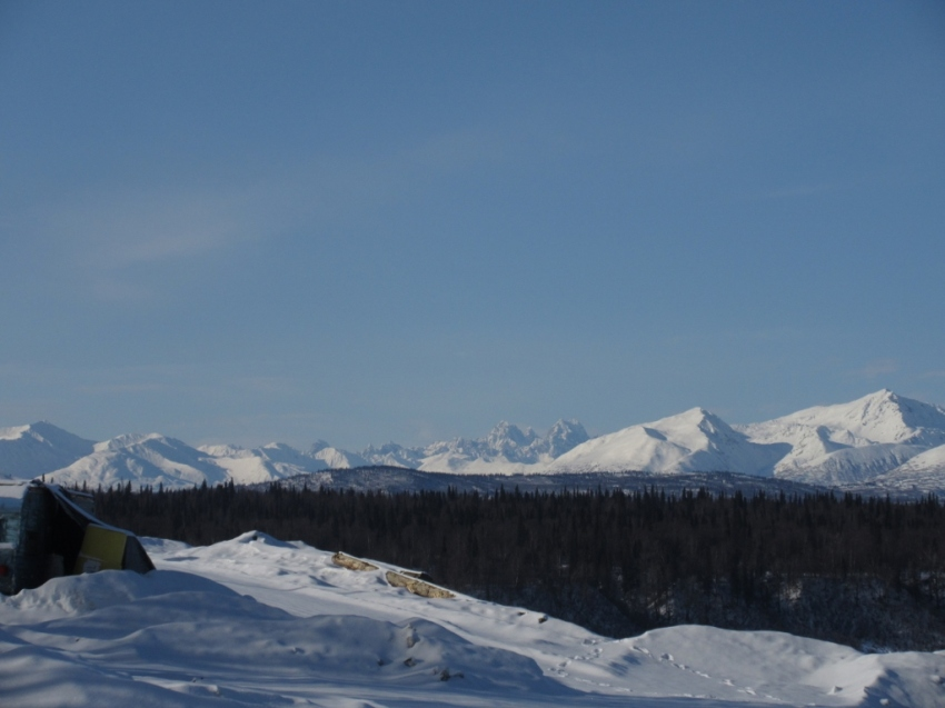 Alaska Range north of Denali