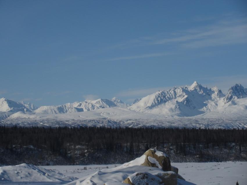 Alaska Range south of Denali