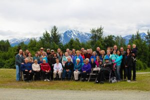 Most of InterAct's Alaska missionaries. active and retired